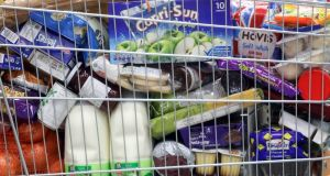 "Plans are being prepared to ""suspend food controls"" if there are any delays to imports of perishable foods at Britain's borders. Photograph: Chris Ratcliffe/Bloomberg"