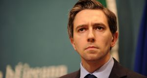 Minister for Health Simon Harris:  his  memo says it is essential the phasing of implementation is correct and aligned with health policy goals. Photograph: Aidan Crawley