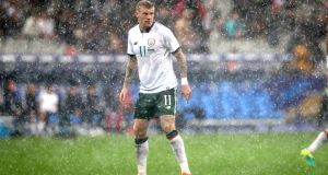 Republic of Ireland international McClean has agreed a four-year deal with Stoke.