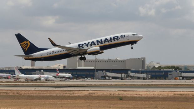 Ryanair has confirmed it will cancel 16 flights on Tuesday as its Irish pilots continue a series of one-day strikes. File photograph: Enrique Calvo/Reuters