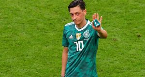 Mesut Ozil has retired from international football with Germany saying he has been victimised. Photo: Luis Acosta/Getty Images