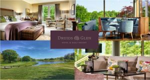 Win an overnight stay for two guests with dinner in Druids Glen Hotel & Golf Resort.Win an overnight stay for two guests with dinner in Druids Glen Hotel & Golf Resort.