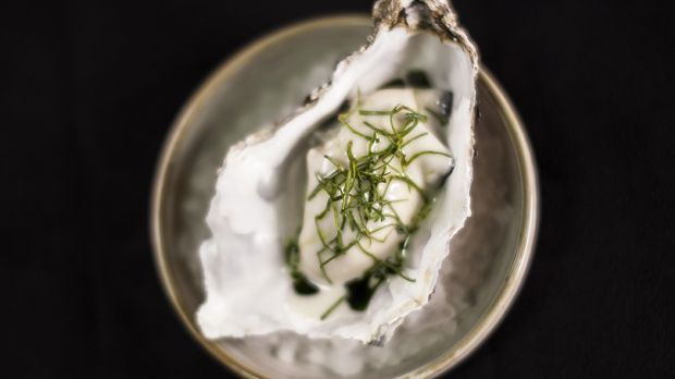 Poached Irish oyster will feature on the seven-course tasting menu