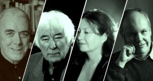 Collections from Theo Dorgan, Seamus Heaney, Anne Haverty and James Harpur