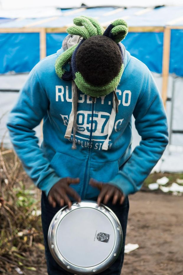 'Sounds Unseen', a photo from The Calais Sessions by Sarah Hickson. Photograph: Sarah Hickson