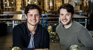 Jack  and Theo Kirwan of restaurant chain Sprout & Co. Photograph: Andres Poveda