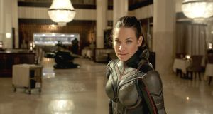 Evangeline Lilly as The Wasp/Hope van Dyne
