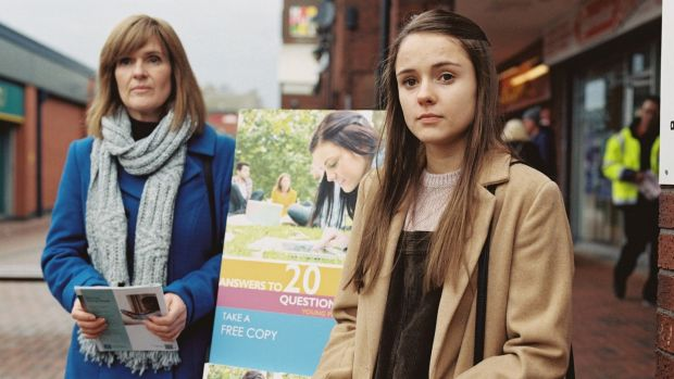 "Siobhan Finneran and Molly Wright in Apostasy. ""One of the aims of the film was to treat the Witnesses with a lot of respect,"" says the director. Photograph: Curzon/Artificial Eye"