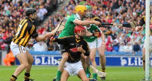 Limerick were beaten by Kilkenny in 2014 the last time they appeared in an All-Ireland semi-final. Photograph: Cathal Noonan/Inpho
