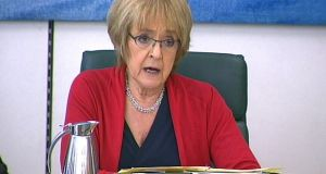 "British Labour MP Margaret Hodge, who faces a party disciplinary inquiry after accusing leader Jeremy Corbyn of being  a ""racist and anti-Semite"". Photograph: PA Wire"