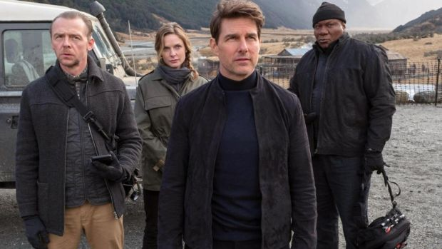 Tom Cruise's middle-aged man is bursting to break free from the well-tailored carapace