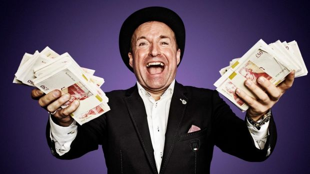 How to Get Rich Quick: the unexpected lessons of Dave Fishwick's show are in the art of being extremely frugal. Photograph: Channel4