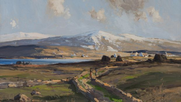 Maurice C Wilks, Rosapenna, Co Donegal