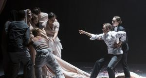 Only a really curmudgeonly purist would allow objections to the prominence of dance spoil their enjoyment. Photograph: Irish National Opera