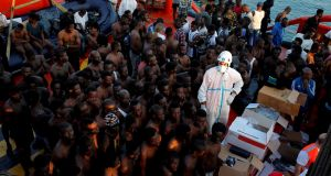 Cut adrift at the end of Europe's migrant trail