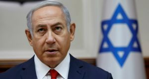 """Jewish critics lament the shift towards a much less tolerant and pluralist Israel reflected in the governing coalition led by Binyamin Netanyahu."" Photograph: Abir Sultan/Pool via Reuters"