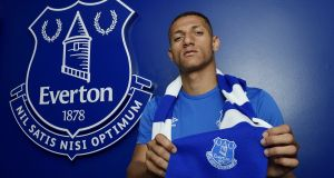 """Everton have put their faith in me and I intend to honour this shirt and demonstrate on the pitch why I came here."""