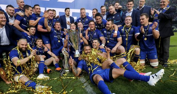 93f6a80de5d Guinness Pro14 champions Leinster's first home game is against the Dragons  on Saturday, September 15th