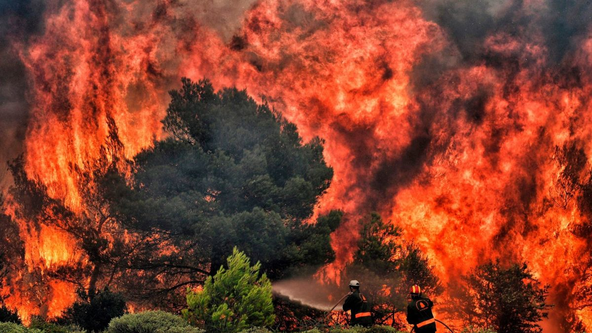 Greece wildfires: At least 74 killed as three days of mourning declared