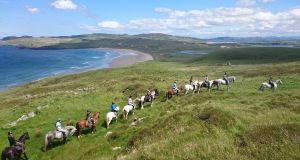 Dunfanaghy Stables at Arnolds Hotel in Co Donegal offers a variety of horse-riding packages.