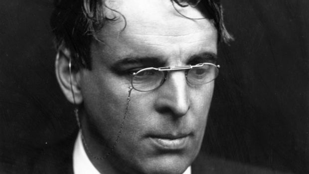 William Butler Yeats: He had a genius for reflecting specific historic events in his own lifetime without allowing his language to be confined to or defined by them. Photograph: George C Beresford/Getty