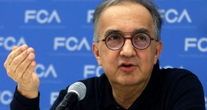 The sudden death of Sergio Marchionne is a major blow not only to the troubled Fiat Chrysler group but also the motor industry in general. Photograph: Reuters