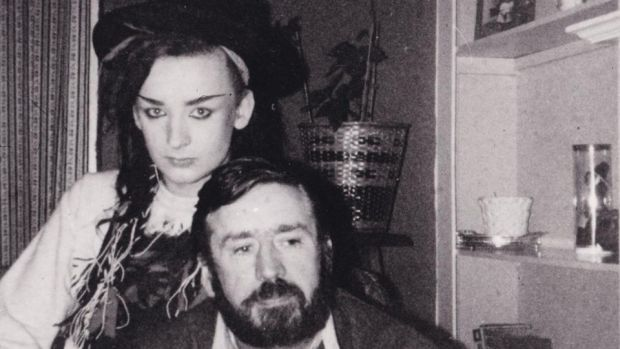 Boy George and his father, Gerald. - (C) Dinah O'Dowd