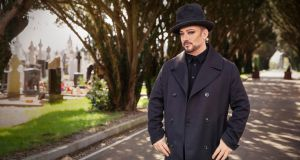 Boy George appears in 'Who Do You Think You Are?'  Photograph: Stephen Perry