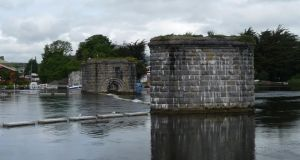 """The old Clifden railway line's bridge piers still stand in the Corrib, crying out to be topped by a new bridge for walking and cycling"""