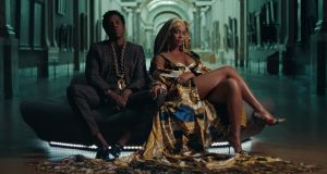 Beyoncé and Jay-Z's latest album, 'Everything is Love', has shot to the top of the pirate download charts.