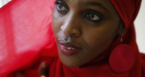 Somali-born Irishwoman Ifrah Ahmed  is working alongside  the London-based Global Media Campaign Against FGM to combat the practice in Somalia. Photograph Nick Bradshaw