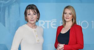 Listenership gains: RTÉ Radio 1's 'News at One' presenters Áine Lawlor and Claire Byrne.