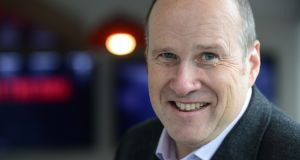 Newstalk's 'Hard Shoulder' presenter Ivan Yates. Photograph: Cyril Byrne/The Irish Times.