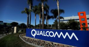 Qualcomm's profits have been hit by its wide-ranging legal battle with Apple over royalties.