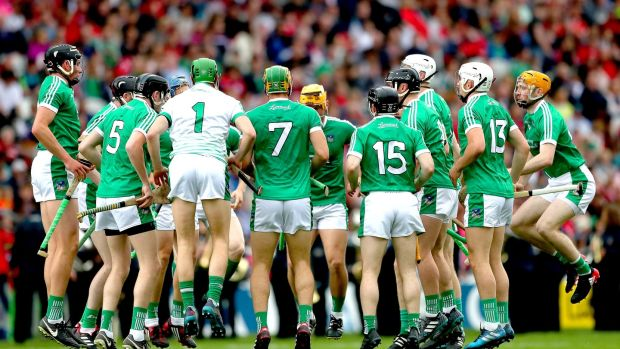 Limerick warm up: They have learned so much about themselves, arguably the most of any of the four teams left. Photograph: Inpho/James Crombie