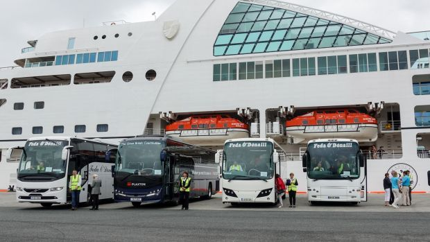 Buses are pre-booked by cruise ships to take passengers on day-trips; Glenveagh National Park, Glencolumbkille and Donegal town are all popular destinations from Killybegs