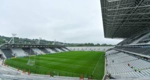 Páirc Uí Chaoimh. Holding the Liam Miller tribute match   at the 45,000-capacity stadium would allow thousands more fans to attend