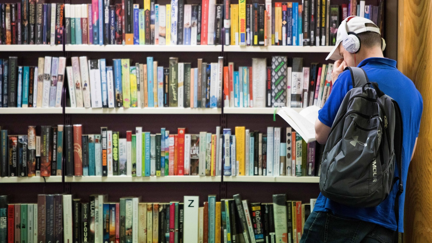 A day in the library: 'This is a safe space for people'