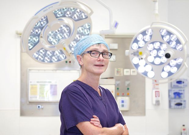 Dr Noreen Gleeson, gynaecology cancer, St James's Hospital.