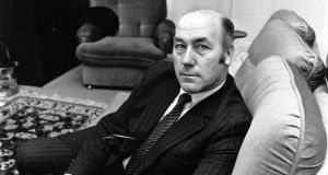 After politics, Dr Martin O'Donoghue returned to academia at Trinity and worked extensively on projects with the United Nations and the World Bank until his retirement in 1995.    Photograph: Peter Thursfield