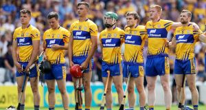 Clare take on reigning champions Galway on Saturday. Photograph: Inpho