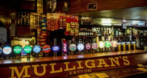 Only a few places on the 1892 map of Dublin's pubs remain, including Mulligan's on Poolbeg Street. Photograph: Brenda Fitzsimons
