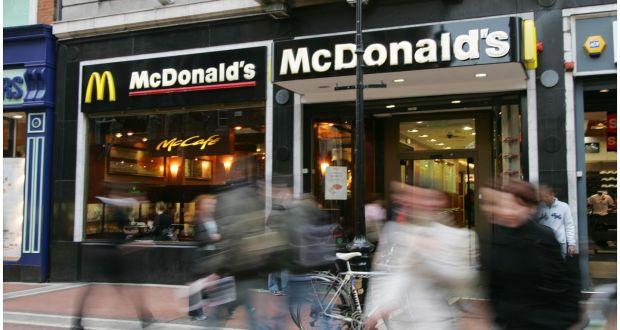 McDonald's to ditch McCafé in flagship Irish restaurant