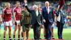 "President Michael D Higgins  at Croke Park on Saturday. Speaking in the stadium on Sunday, the President said he was ""very concerned about gambling"" in sport. Photograph: Tommy Dickson/Inpho"