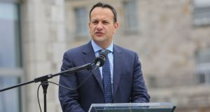Taoiseach Leo Varadkar: the four Independent Ministers are expected to say to him that talk of an early election in Fine Gael is damaging the stability of the Government. Photograph:  Gareth Chaney/Collins
