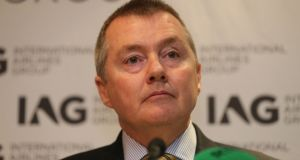 IAG chief executive Willie Walsh: airlines have complained to European Commission about industrial action by air traffic controllers in France. Photograph: Niall Carson/PA Wire
