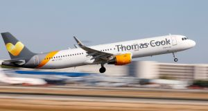 Thomas Cook is open to divesting its airline business. Photograph: Paul Hanna/Reuters