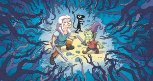 Disenchantment, the new Matt Groening 10-episode adult animated comedy fantasy series. Photograph: Netflix