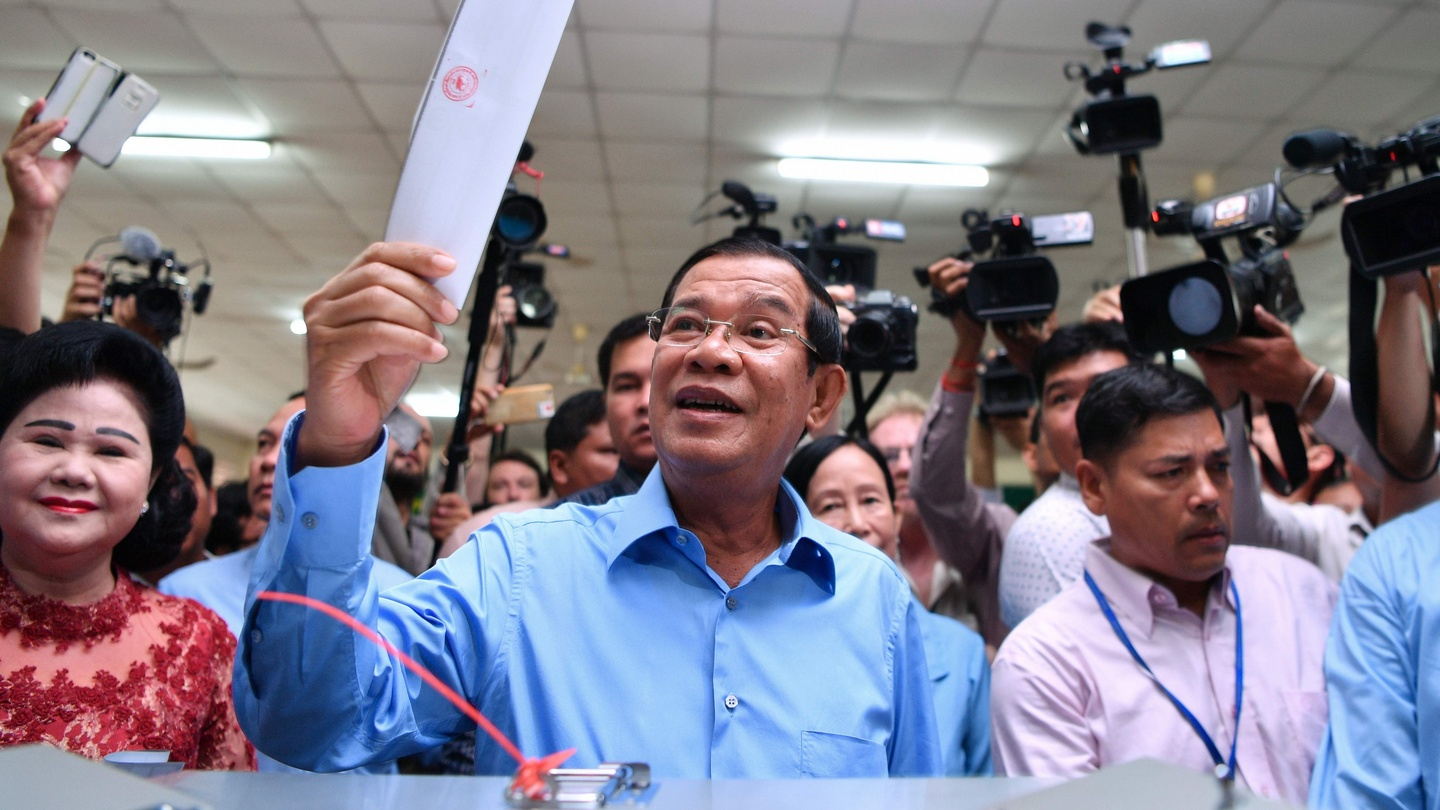 Cambodias Ruling Party Secures Clean Sweep In Parliamentary Poll