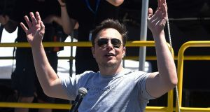 Tesla founder Elon Musk caused an international news sensation when he made vile allegations without any foundation against one of the divers involved in the Thai cave rescue. Photograph: Robyn Beck/AFP/Getty